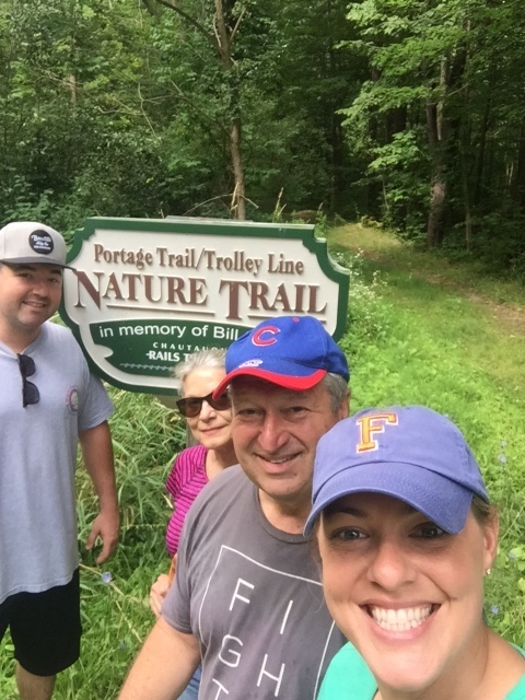 Hiking The Portage Trail